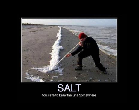 salt lines